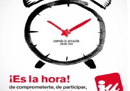 Afiliación campaña IU Es la Hora